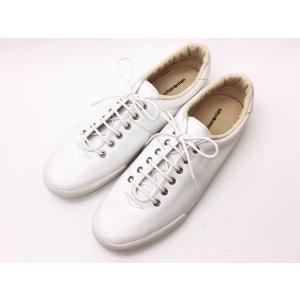 マカロニアン maccheronian スニーカー 0039L ホワイト WHITE メンズ&レディース 靴|creation-shoes