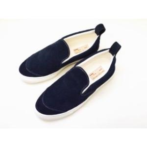 buddy バディ スリッポン German Shepherd (NAVY) メンズ レディース|creation-shoes