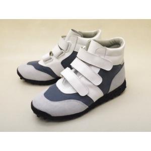 ジャーマントレーナー German Trainer パイロットシューズ 5185F(GRAY/WHITE) MEN'S|creation-shoes