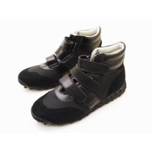 ジャーマントレーナー German Trainer パイロットシューズ 5185F(BLACK/BLACK) MEN'S|creation-shoes