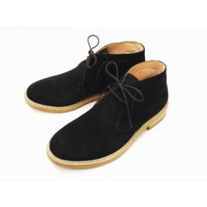 CEBOG セボジー チャッカーブーツ 9055976(BLACK) Men's creation-shoes