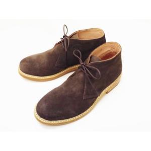 CEBOG セボジー チャッカーブーツ 9055976(BROWN) Men's creation-shoes