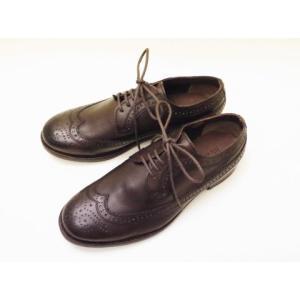 BICASH ビカーシ ウイングチップシューズ No.021(DARK BROWN) Men's|creation-shoes