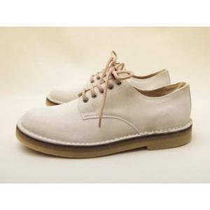 CEBO セボ レースアップシューズ 82192D(CREAM SUEDE) Men's creation-shoes