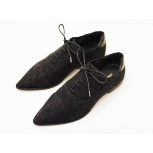 OSKLEN オスクレン オックスフォードシューズ 41237(BLACK) レディース商品|creation-shoes