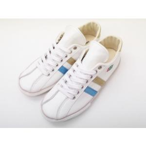 maccheronian マカロニアン メンズ レディース スニーカー 2215L(WHITE/SAX/BEIGE)|creation-shoes