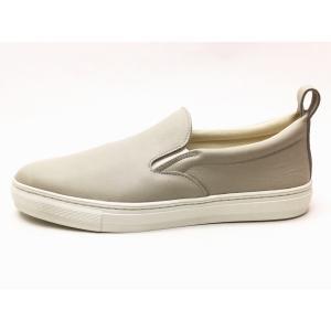 buddy バディ スリッポン German Shepherd Smooth(GRAY) メンズ レディース|creation-shoes