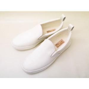 buddy バディ スリッポン German Shepherd Smooth(WHITE) メンズ レディース|creation-shoes