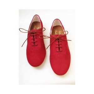 Marie Louise マリー・ルイーズ レースアップシューズ MLS-06S(RED) レディース|creation-shoes