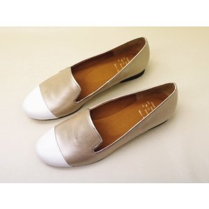 Yale+No.88 エイト オペラシューズ No.40032(SILVER)  レディース|creation-shoes
