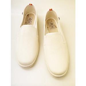 berevere ベレヴェレ スリッポン FV5043(CRUDO/生成り色) MEN'S|creation-shoes