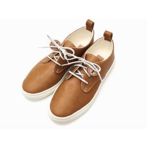 バディー buddy スニーカー Corgi Low Smooth CAMEL メンズ&レディース|creation-shoes
