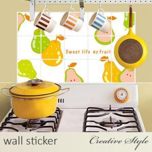 商 品 名:なしキッチン ウォールステッカー ウォールシール 壁紙シール 商品番号:WS-AY301...