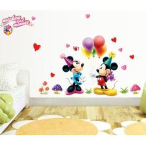 ウォールステッカー 子供部屋 ミッキー ミニー  壁シール ウォールシール 窓シール インテリアシール はがせる かわいい 誕生日 動物 ディズニー キャラクター creative-style 02