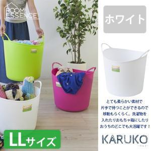 東谷 KARUKO (カルコ) バケツ LLサイズ ホワイト LFS-557WH|creativelife