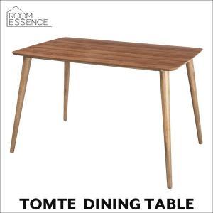 ダイニングテーブル 幅120cm ウォールナット 机 カフェ 木製 北欧 TAC-242WAL|creativelife