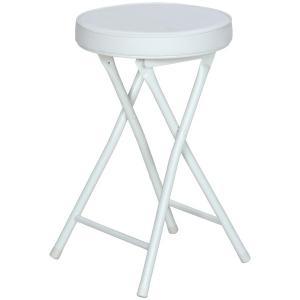 折りたたみスツール フォールディングチェアー 椅子 パイプイス 簡易椅子 折り畳み 折畳み 持ち運び...