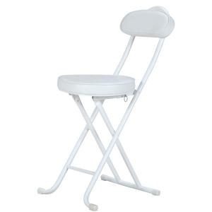 スリムチェアー パイプイス 折りたたみチェア 椅子 簡易椅子 腰掛椅子 コンパクト 収納 94775