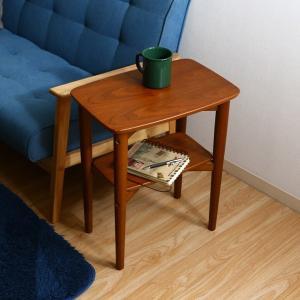 【代引き不可】 不二貿易 (FUJIBOEKI) サイドテーブル ノルン スクエア 6806-5SF-4530 MBR 96476|creativelife