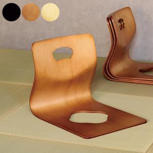 曲げ木座イス 完成品 座敷椅子 座椅子 座いす スタッキング 収納 木製 和室 法事 GZ-395 creativelife