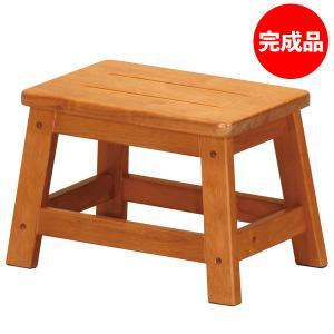 ステップ台 高さ23cm 1段 踏み台 ステップチェア 脚立 はしご 腰掛台 玄関台 木製 STC-1N|creativelife