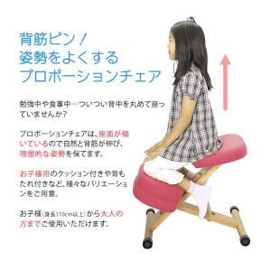 プロポーションチェア バランスチェア 矯正椅子 いす 椅子 学習椅子 学習イス パソコンチェア pcチェア 子供用 子ども キッズ CH-889CK-PC|creativelife|02
