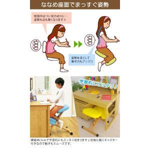プロポーションチェア バランスチェア 矯正椅子 いす 椅子 学習椅子 学習イス パソコンチェア pcチェア 子供用 子ども キッズ CH-889CK-PC|creativelife|03