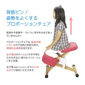 プロポーションチェア バランスチェア 矯正椅子 いす 椅子 学習椅子 学習イス パソコンチェア pcチェア 子供用 CH-889CK-SO|creativelife|02