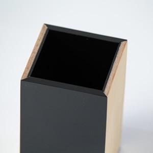 ペン立て デザイン ペンスタンド おしゃれ 木製 アクリル グラビティシリーズ creatorplaneta 03