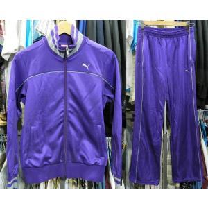 【商品説明】 美品 レディース プーマ ジャージ 上下セットアップ M PUMA 紫|creep-shopping