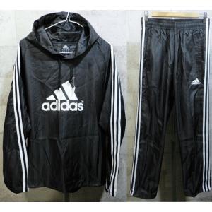 美品 アディダス 日本製 フード付き ピステ 上下セットアップ 黒白 M メンズ adidas ブラック パーカー ロゴ 3本線|creep-shopping