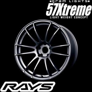 RAYS レイズ GRAM LIGHTS 57XTREME STD SPEC グラムライツ 57エクストリーム STDスペック 18インチ 8.5J PCD:114.3|creer-net