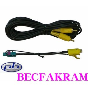 pb BECFAKRAM フォルクスワーゲン用リヤビューカメラケーブル オスタイプ|creer-net