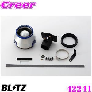 BLITZ ブリッツ No.42241 日産 E12改 ノートニスモS用 アドバンスパワー コアタイプエアクリーナー ADVANCE POWER AIR CLEANER|creer-net