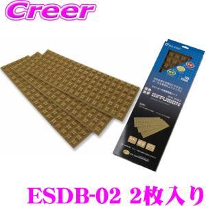 【在庫あり即納!!】日本正規品 積水化学工業 REALSHILD レアルシルト・ディフュージョンESDS-02 デッドニング用拡散シート2枚入り|creer-net