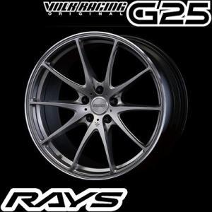 RAYS レイズ VOLK RACING G25 ボルクレーシング G25 19インチ 9.5J PCD:114.3 穴数:5 インセット:35|creer-net