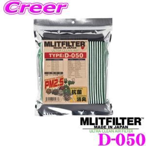 MLITFILTER エムリットフィルター エアコンフィルター TYPE:D-050の商品画像|ナビ