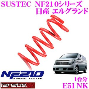 TANABE タナベ E51NK SUSTEC NF210 ダウンサス|creer-net