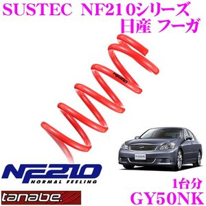 TANABE タナベ GY50NK SUSTEC NF210 ダウンサス|creer-net