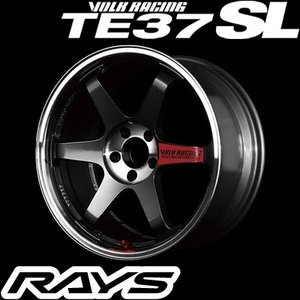 RAYS レイズ VOLK RACING TE37SL ボルクレーシング TE37SL 18インチ 8.5J PCD:100 穴数:5 インセット:45 カラー:プレスドグラファイト|creer-net