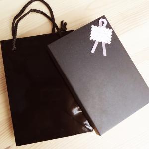 単品購入不可 ギフトボックス 黒 creimastudio
