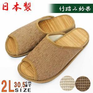 日本製  ■竹踏み効果で血行促進  人間工学に基づいた開発された健康志向商品です。  足が乗る部分は...