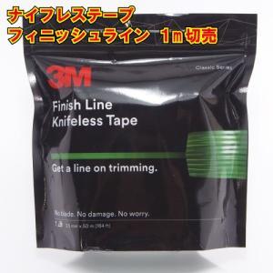 ナイフレステープ フィニッシュライン 1m切り売り カットテープ ラッピング用 knifelesstape|crescent-ss
