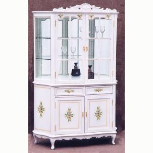 輸入家具 白家具 飾棚    GSR|crescent