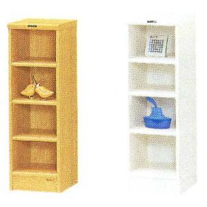 木製収納ラック 幅30cm 高さ88cm 2色対応|crescent