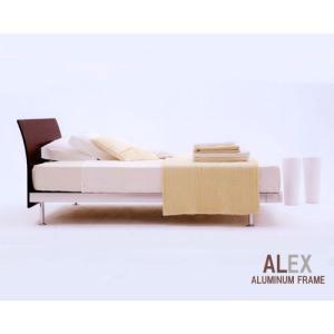 ベッド シングル シングルベッド レッグタイプ フレームのみ アルミフレーム  アスリープ アイシン精機 トヨタベッド crescent