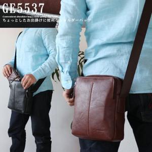 ミニショルダーバッグ 合皮 20cm 斜め掛けバッグ 肩掛けバッグ メンズ 鞄 カバン あすつく アウトレット|crescent