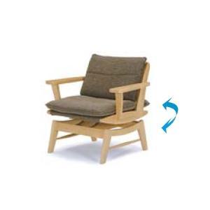 ダイニングチェアー  幅77cm アームチェア 回転チェアー 肘付きチェア イス 椅子 いす 送料無料 t003-m056-myb-kch|crescent