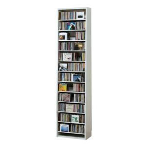 最大CD収納枚数540枚最大DVD収納枚数232枚ディスプレイしながら大量収納 大容量 CDラック 幅48.5cm t005-m135-|crescent