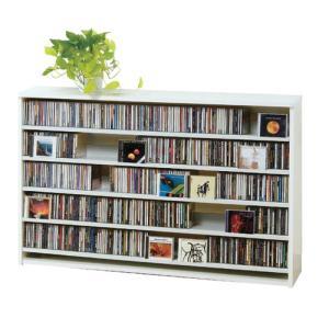 最大CD収納枚数695枚最大DVD収納枚数180枚ディスプレイしながら大量収納 大容量 CDラック 幅139.2cm t005-m135-|crescent